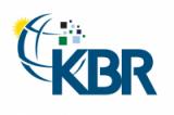 Logo for KBR
