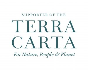 Badge to confirm BSA is a supporter of the Terra Carta